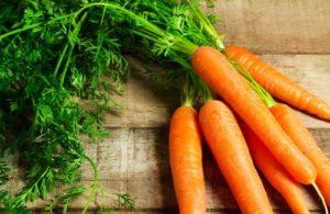 como quitar las estrías blancas con Zanahorias